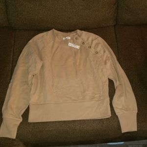 Miles by madewell tan long sleeve